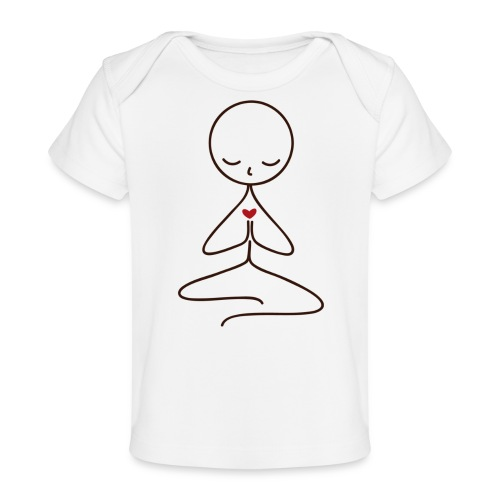 Peace & Love - Ekologisk T-shirt baby