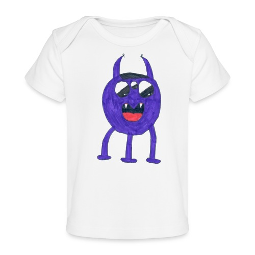 Monster - Ekologisk T-shirt baby