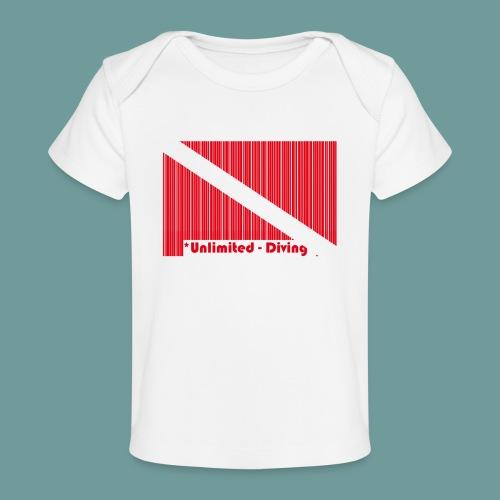 flag_barre_ud - T-shirt bio Bébé