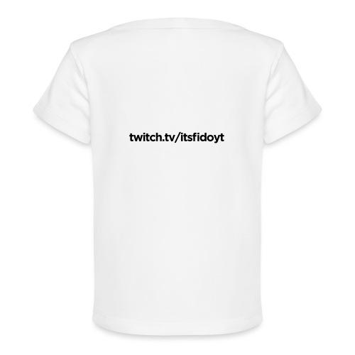 Fido - Twitch Link - Økologisk T-shirt til baby