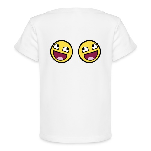 Boxers lolface 300 fixed gif - Organic Baby T-Shirt