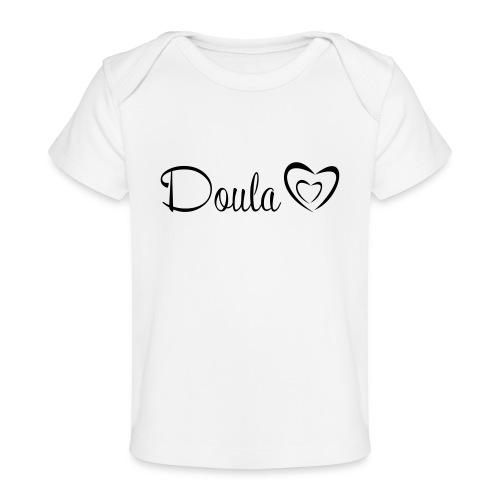 doula polkuna sydämet - Vauvojen luomu-t-paita