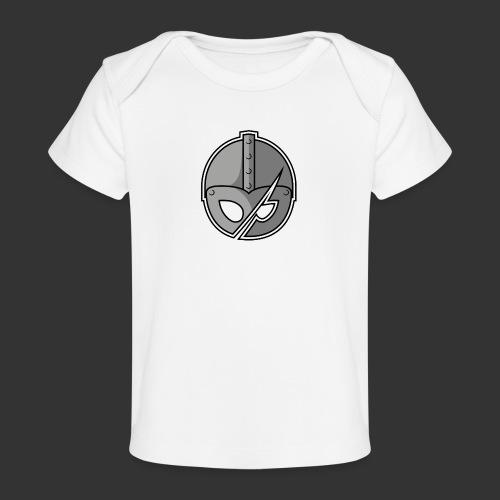 Slashed Helmet - Organic Baby T-Shirt