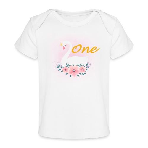 Zwaan one - Baby bio-T-shirt