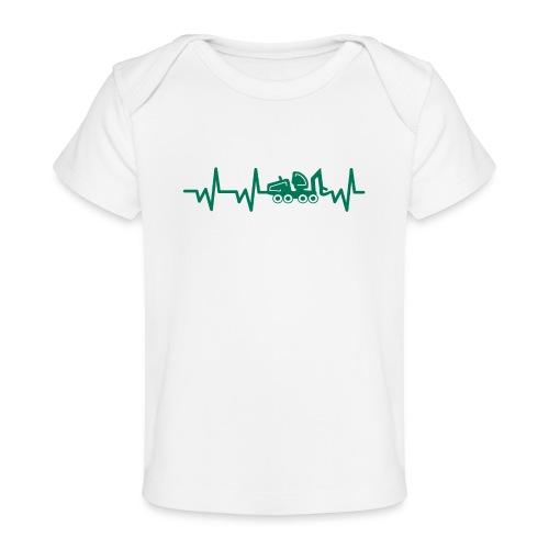 Forst | Herzschlag - Baby Bio-T-Shirt