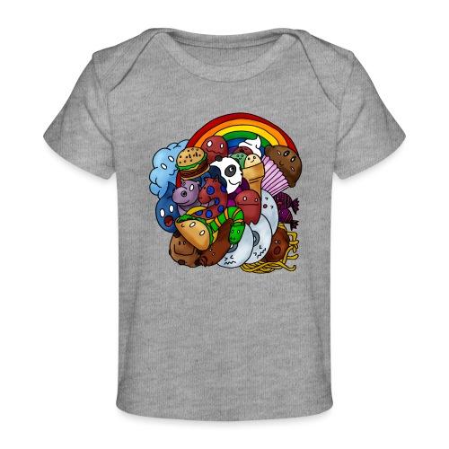 Happy Colors - Baby Bio-T-Shirt