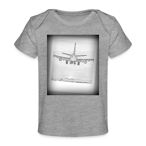 747 - Camiseta orgánica para bebé