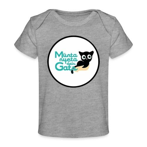 La Muntanyeta dels Gats Logo - Camiseta orgánica para bebé