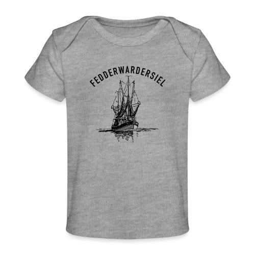 Fedderwardersiel Kutter - Baby Bio-T-Shirt