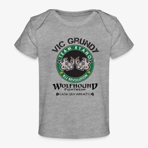 vic grundy back png - Organic Baby T-Shirt