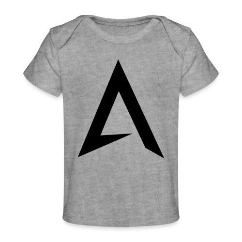 alpharock A logo - Organic Baby T-Shirt