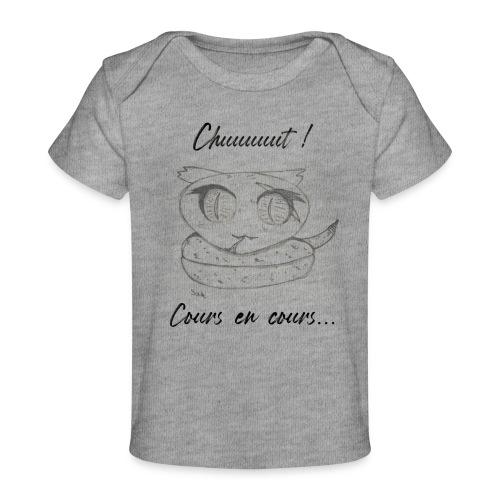 Serpent_chut - T-shirt bio Bébé
