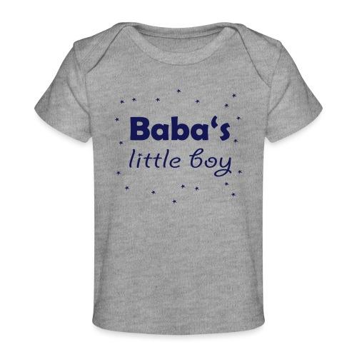 Baba's litte boy Babybody - Baby Bio-T-Shirt