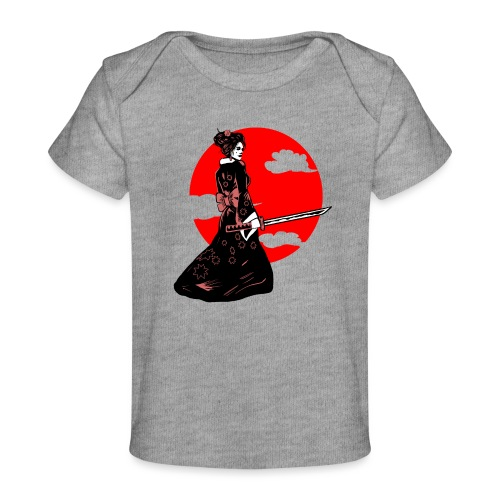 geisha tshirt - Baby bio-T-shirt
