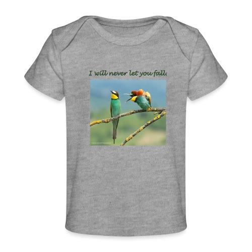 Amigos por siempre. - Camiseta orgánica para bebé