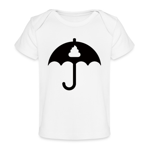 Shit icon Black png - Organic Baby T-Shirt