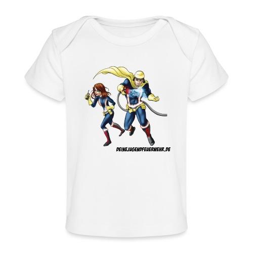 1+1=2Eine gute Connection - Baby Bio-T-Shirt