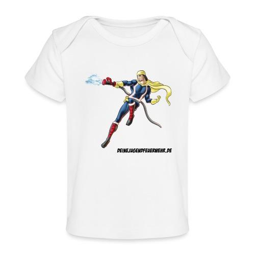 Captain Firefighter - Baby Bio-T-Shirt