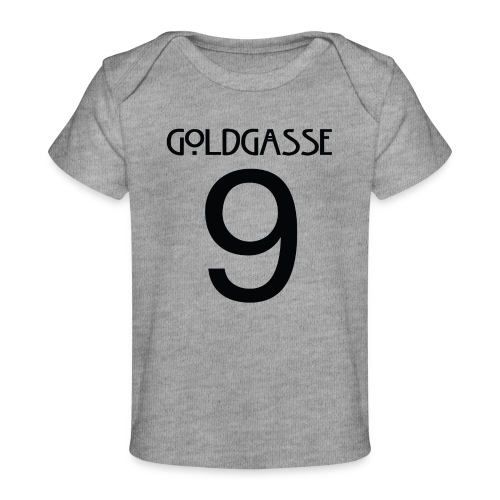Goldgasse 9 - Back - Organic Baby T-Shirt