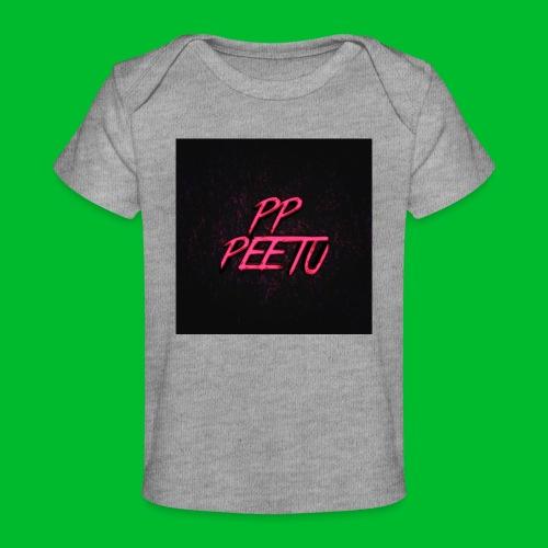 Ppppeetu logo - Vauvojen luomu-t-paita