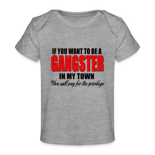 ville gangster - T-shirt bio Bébé
