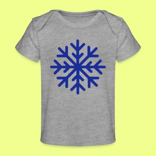 COPO DE NIEVE - Camiseta orgánica para bebé