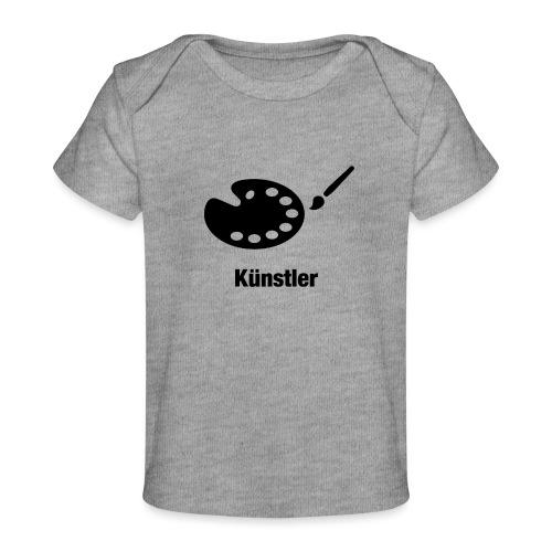 Künstler - Baby Bio-T-Shirt
