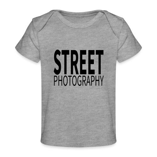 Street photography Black - Maglietta ecologica per neonato