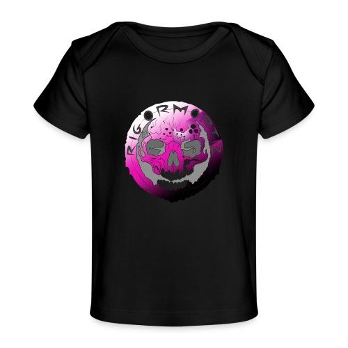 Rigormortiz Purple Design - Organic Baby T-Shirt