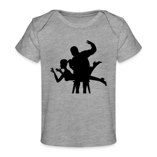 spanking - Baby Bio-T-Shirt
