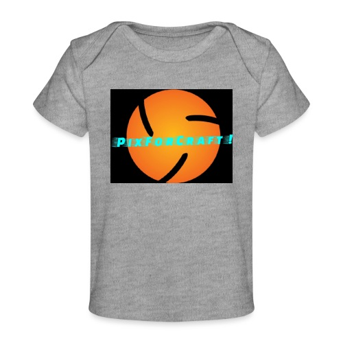 LOGO PixForCraft (Le logo de Juin 2017) - T-shirt bio Bébé