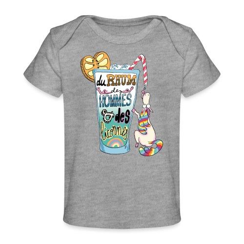 Du Rhum et des Licornes ! - T-shirt bio Bébé