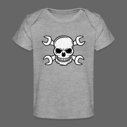 MEKKER SKULL - Økologisk T-shirt til baby