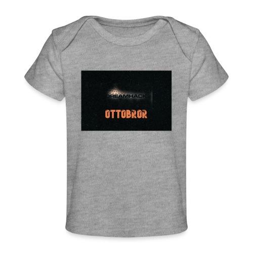 svart granit polerad - Ekologisk T-shirt baby
