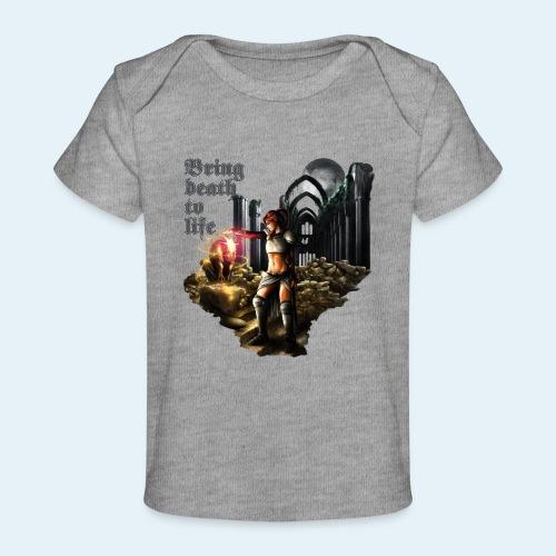 Bring death to life - Camiseta orgánica para bebé