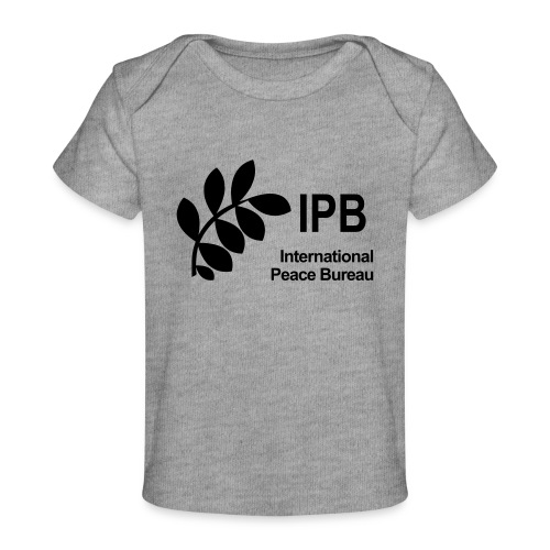 International Peace Bureau IPB Logo black - Organic Baby T-Shirt