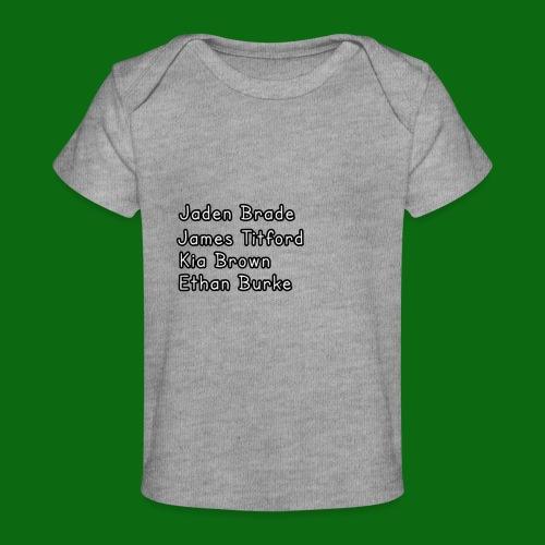 Glog names - Organic Baby T-Shirt