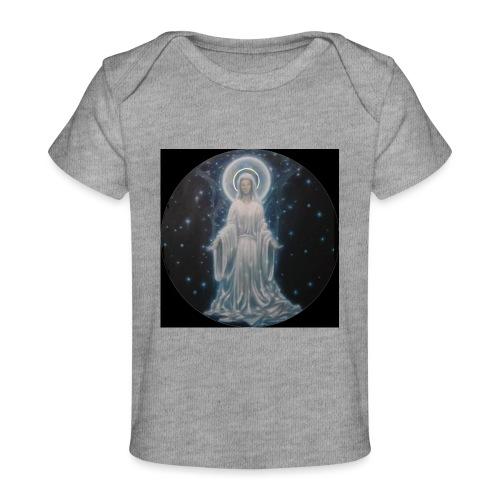 圣母玛利亚 Notre Dame by Jean Libon (Noir) - T-shirt bio Bébé