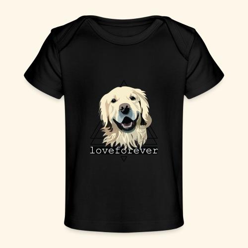 RETRIEVER LOVE FOREVER - Camiseta orgánica para bebé