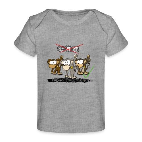 Protest-Äffchen 2 - Baby Bio-T-Shirt