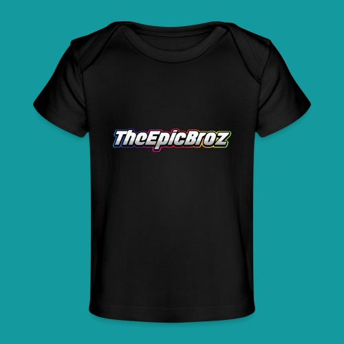 TheEpicBroz - Baby bio-T-shirt