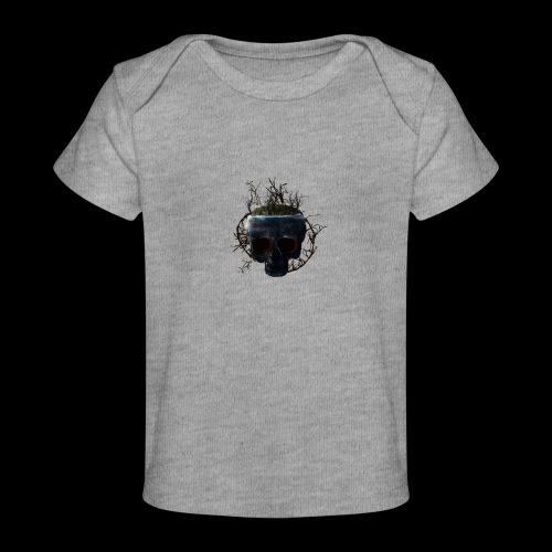 Tête de mort île - T-shirt bio Bébé