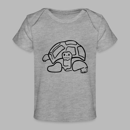 schildkröte landschildkroete aus den seychellen - Baby Bio-T-Shirt