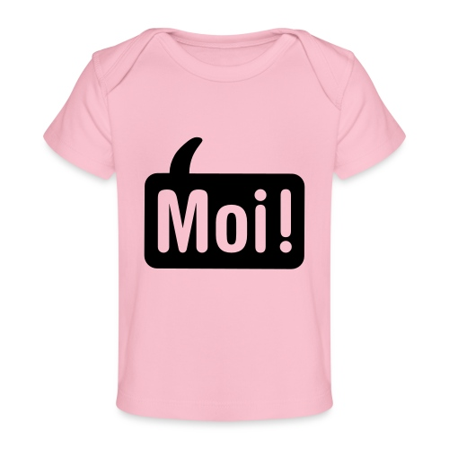 hoi shirt front - Baby bio-T-shirt