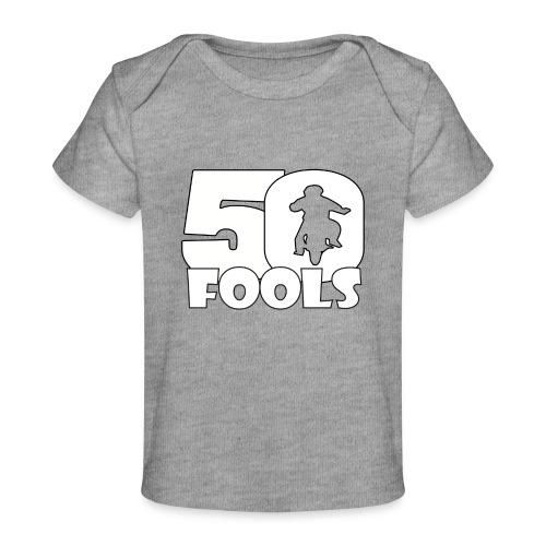 50FOOLSLOGOSPREADSHIRT png - Baby bio-T-shirt