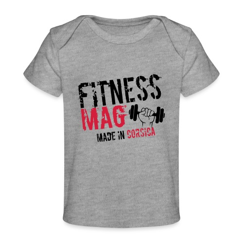 Fitness Mag made in corsica 100% Polyester - T-shirt bio Bébé
