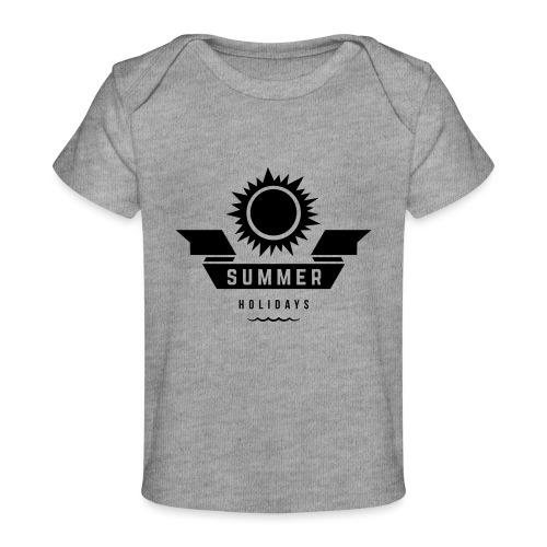 Summer holidays - Vauvojen luomu-t-paita