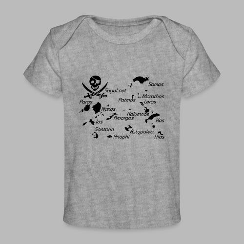 Crewshirt Motiv Griechenland - Baby Bio-T-Shirt
