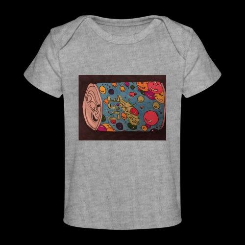 7AABC614 53CA 4156 B765 D9FBF5B8E496 - Økologisk T-shirt til baby