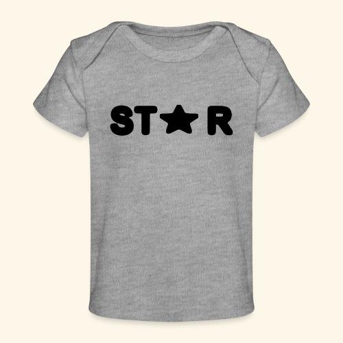 Star of Stars - Organic Baby T-Shirt